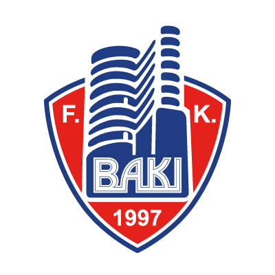 FK Baki logo vector logo