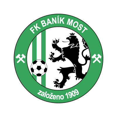 FK Banik Most logo vector logo