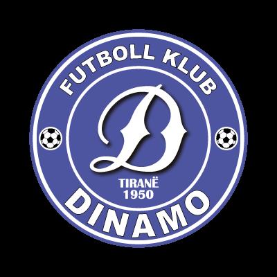 FK Dinamo Tirane logo vector logo