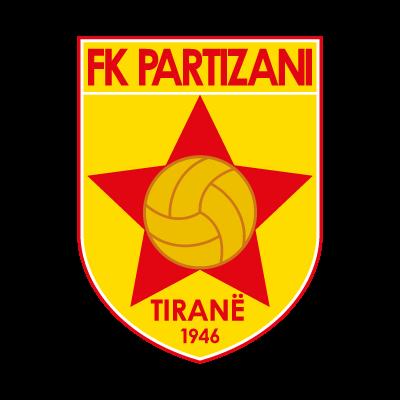 FK Partizani logo vector logo