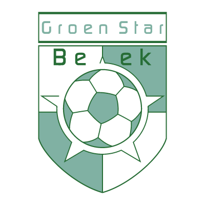 Groen Star Beek logo vector logo