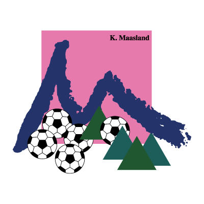 K. Maasland Maasmechelen logo vector logo