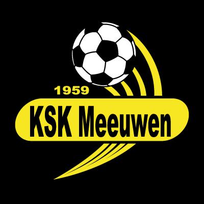 KSK Meeuwen logo vector logo