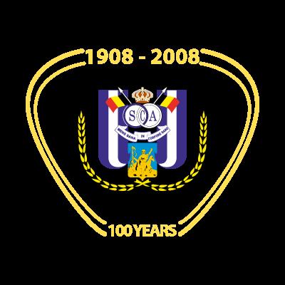 RSC Anderlecht (100 years) logo vector logo