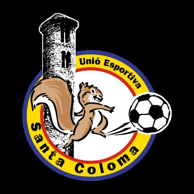 U.E. Santa Coloma logo vector logo