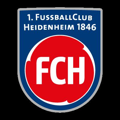 1. FC Heidenheim logo vector logo