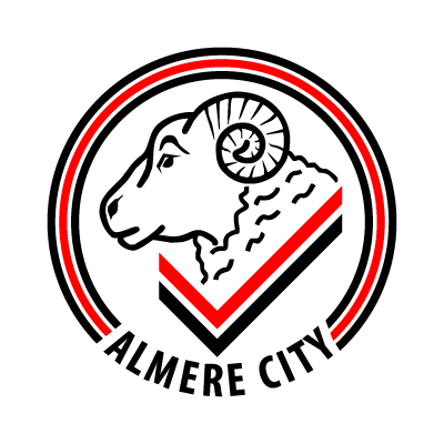 Almere City FC logo vector logo