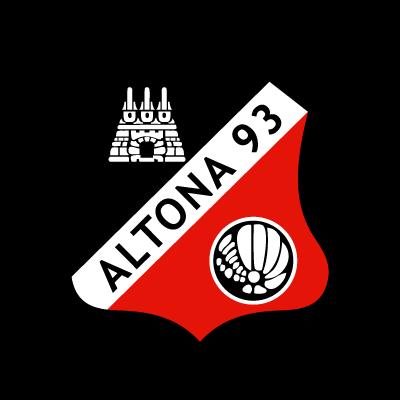 Altonaer FC von 1893 logo vector logo