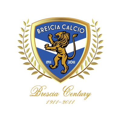 Brescia Calcio (100 Years) logo vector logo