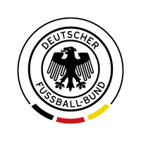 Deutscher FuBball-Bund (Black - White) vector logo