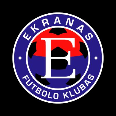 FK Ekranas logo vector logo