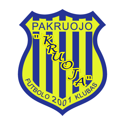 FK Kruoja logo vector logo