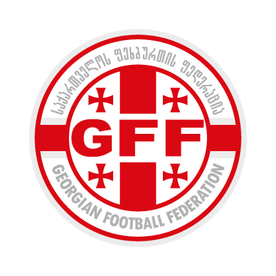Georgian Football Federation logo vector logo