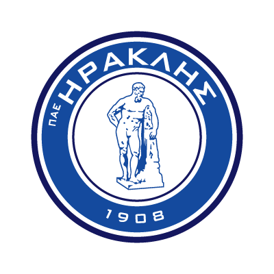 Iraklis FC logo vector logo