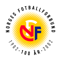 Norges Fotballforbund (100 Years) logo