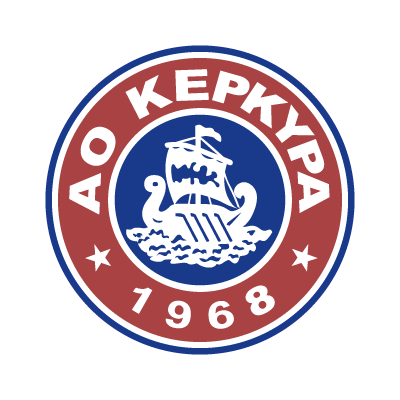 PAE AO Kerkyra logo vector logo