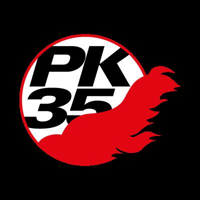 Pallokerho-35 logo vector logo