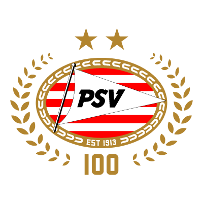 PSV Eindhoven (100 Years) logo vector logo