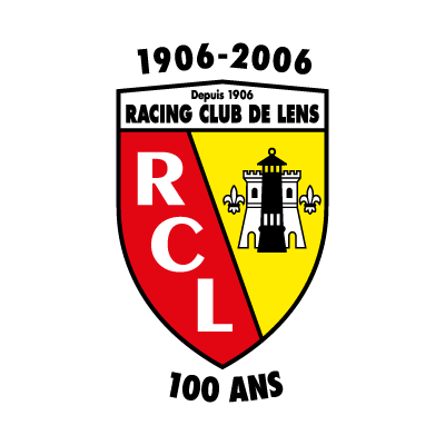 Racing Club de Lens (100 ANS) logo vector logo