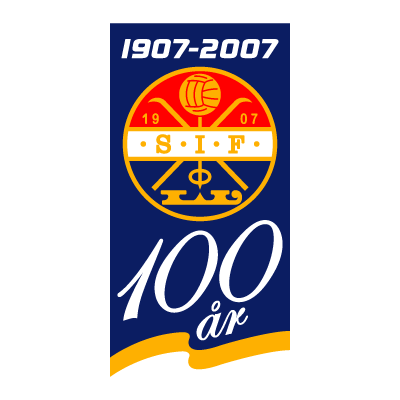Stromsgodset IF (100 Years) logo vector logo