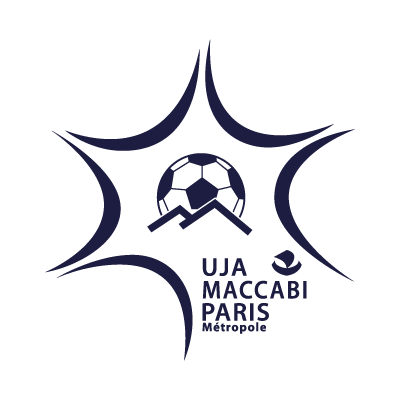 UJA Maccabi Paris logo vector logo