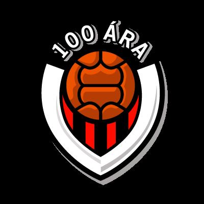 Vikingur Reykjavik (100 ara) logo vector logo
