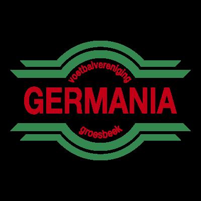 VV Germania logo vector logo
