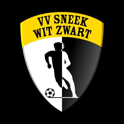 VV Sneek Wit Zwart logo vector logo