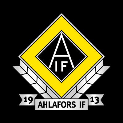 Ahlafors IF logo vector logo