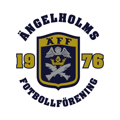 Angelholms FF logo vector logo