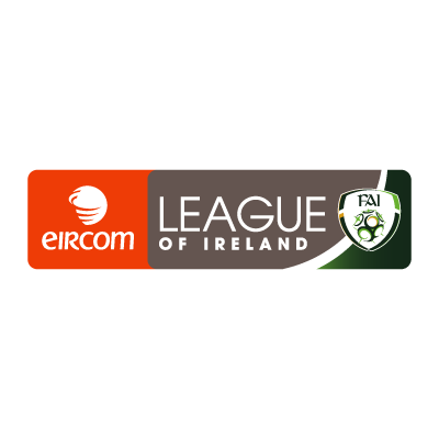 Eircom League of Ireland (2008) logo vector logo