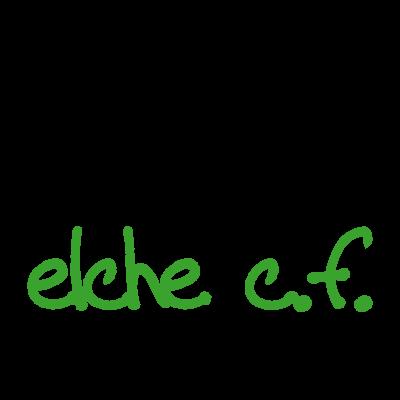 Elche C.F. (2009) logo vector logo