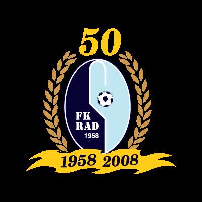 FK Rad (1958-2008) logo vector logo