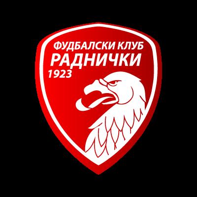 FK Radnicki 1923 logo vector logo