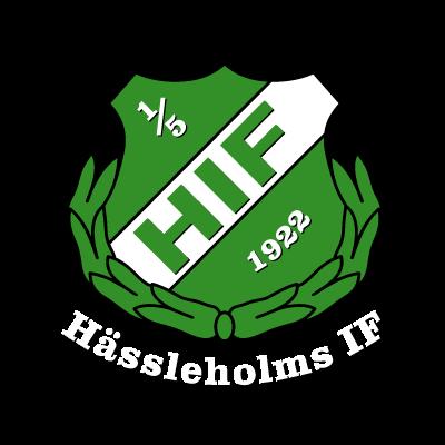 Hassleholms IF (2009) logo vector logo