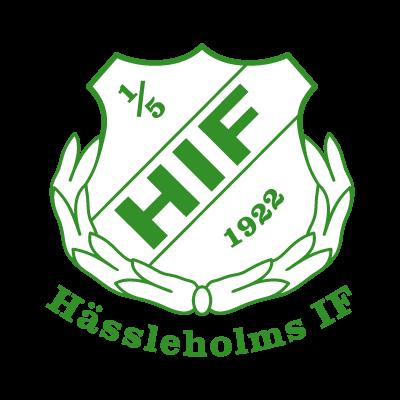 Hassleholms IF logo vector logo