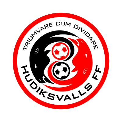 Hudiksvalls FF logo vector logo