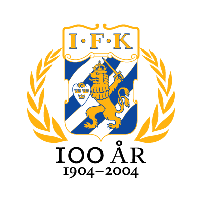 IFK Goteborg (100 Years) logo vector logo