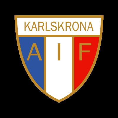 Karlskrona AIF logo vector logo