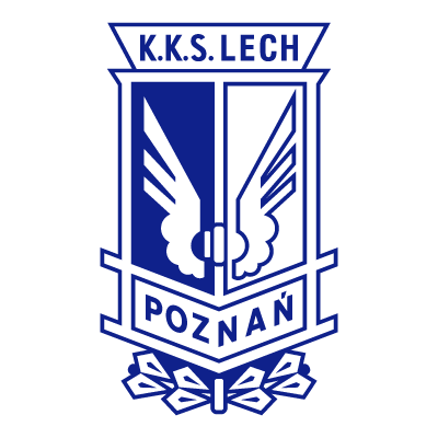 KKS Lech Poznan (2008) logo vector logo