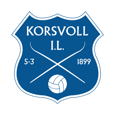 Korsvoll IL logo vector logo