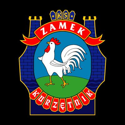 KS Zamek Kurzetnik logo vector logo
