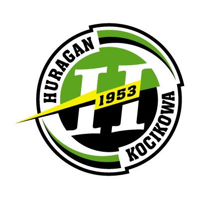 LKS Huragan Kocikowa logo vector logo