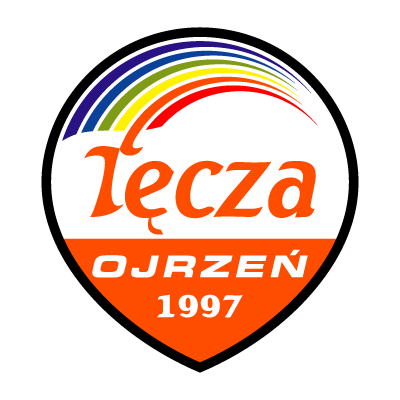 LKS Tecza Ojrzen logo vector logo