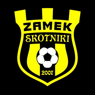 LKS Zamek Skotniki logo vector logo