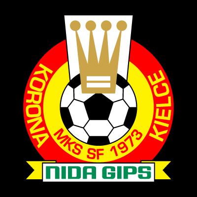 MKS SF Korona Nida Gips Kielce (1973) logo vector logo