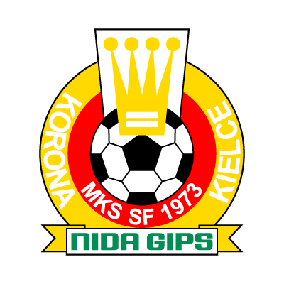 MKS SF Korona Nida Gips Kielce logo vector