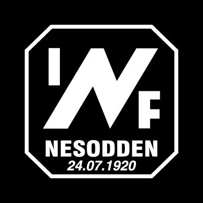 Nesodden IF logo vector logo