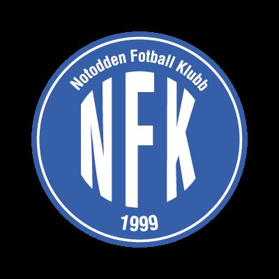 Notodden FK logo vector logo