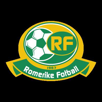 Romerike Fotball logo vector logo